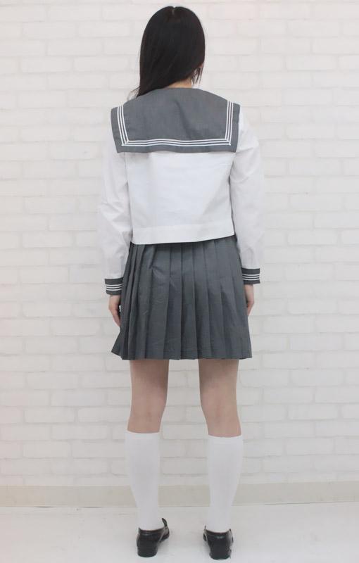 私立の高等学校セーラー服(旧女子部・中間服) BIG   私立の高等学校セーラー服(旧女子部・中